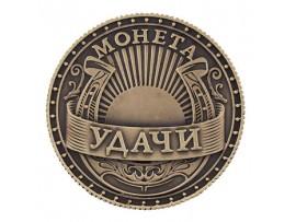 Русская сувенирная монета удачи