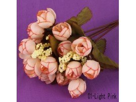 Декоративные букеты из искусственных цветов