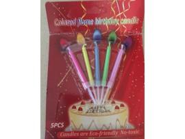 Свечи для торта на день рождения (5шт)