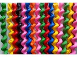 Спиральные воздушные шарики из латекса (25шт)