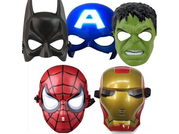"""Набор масок супергероев """"Мстители"""" (5шт)"""