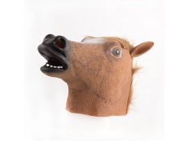 Резиновая маска голова лошади