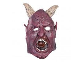 Маска дьявола с рогами