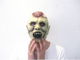 Маска Зомби с вскрытым мозгом