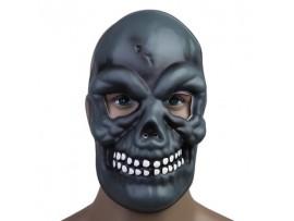 Зловещая маска на лицо с черепом