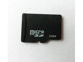 Микро СД на 2 гб с адаптером