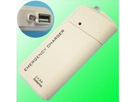 Переносной аккумулятор для зарядки телефона с фонариком