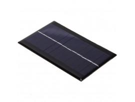 Солнечная мини-панель 1 Вт, 6 В, 166 мА, 115х70