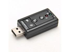 Внешняя звуковая карта USB 7.1