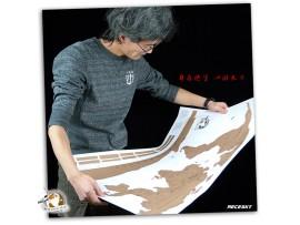 Карта мира путешественника со скретч слоем