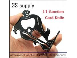 Многофункциональный карманный нож-кредитка