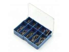 Коробка 50 крючков для рыбалки (10 размеров)