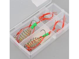 Рыболовный крючок с кормушкой (2шт)