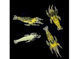 Светящиеся в темноте приманки креветки для рыбалки