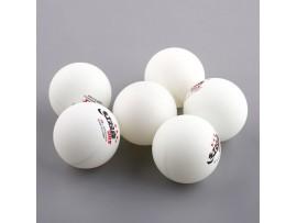 Мячи для настольного тенниса, 2,8 г (6шт)
