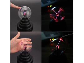 Электрический плазменный шар, тесла шар